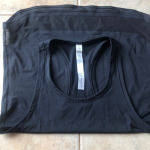 Brand new black lulu lemon tank